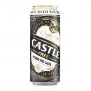 CASTLE FREE CAN ( 24x 500ml)