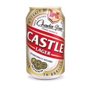CASTLE LAGER Can  ( 6 x 330 ml )