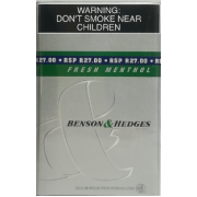 BENSON & HEDGES  Menthol ( 1 x 20's )