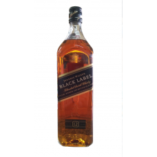 JOHNNIE WALKER Black Label Scotch Whisky  (1 x 750ml)